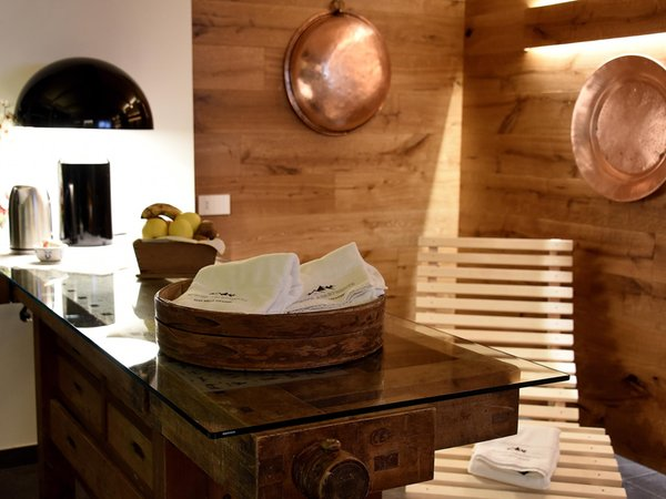 Photo of the wellness area Europa mountain apartments