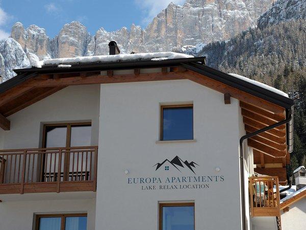Foto invernale di presentazione Europa Mountain Apartments