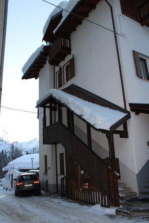 Foto Außenansicht im Winter Marisa