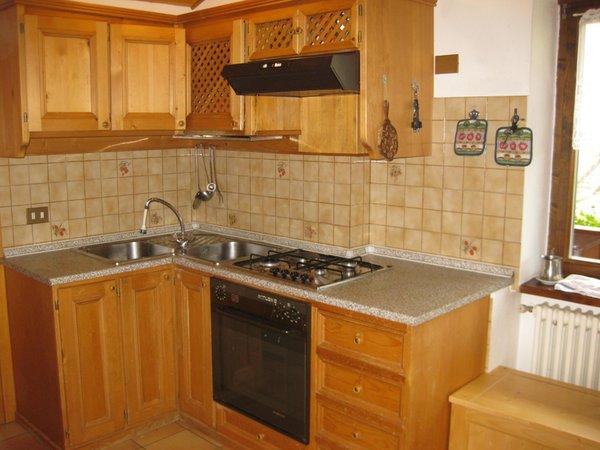 Photo of the kitchen Casa Canazei