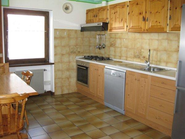 Foto della cucina Casa Canazei