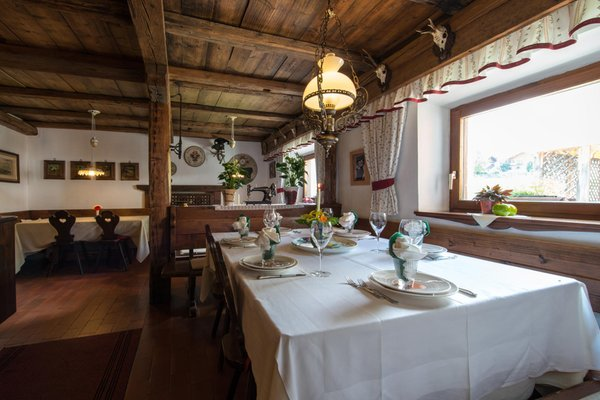 Il ristorante San Vigilio Fana Ladina