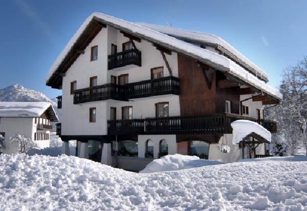Winter Präsentationsbild Casa Rosada - Ferienwohnungen zweite Kategorie