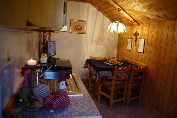 Foto della cucina Ciasa Rü