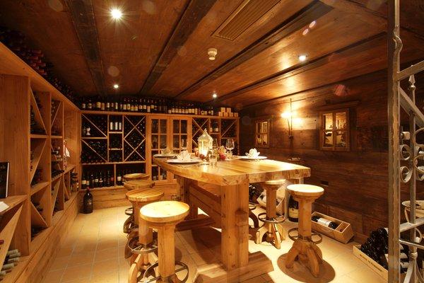 Wine cellar Corvara Sporthotel Panorama & Dep.