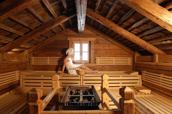 Photo of the sauna Corvara