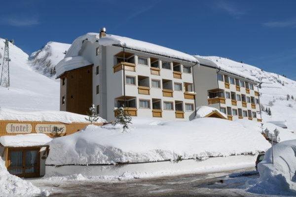 Foto invernale di presentazione Hotel Grifone
