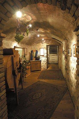 La cantina dei vini Arabba Al Forte