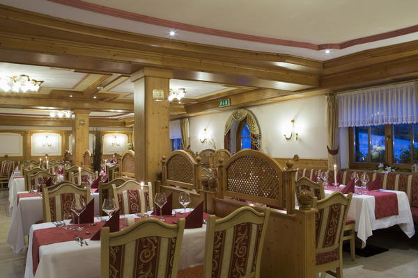The restaurant Arabba Alpenrose