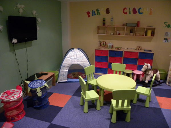 The children's play room Hotel + Residence Alpenrose