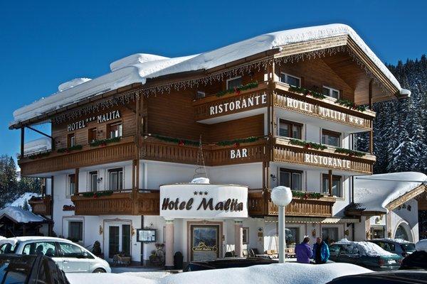 Foto invernale di presentazione Active Hotel Malita