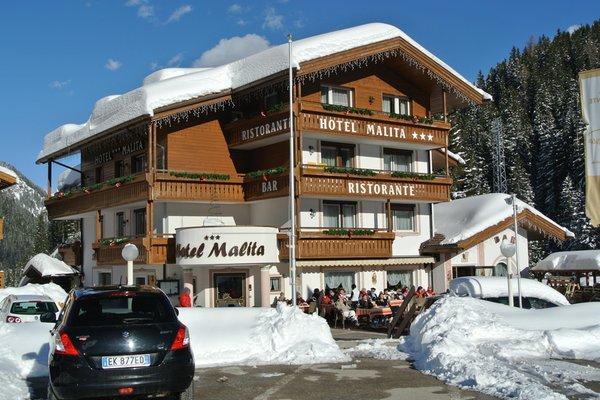 Foto esterno in inverno Active Hotel Malita
