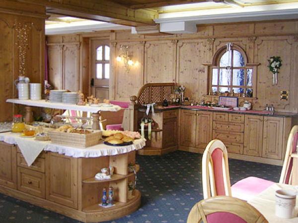 Il ristorante Arabba Royal