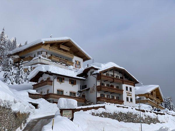 Winter Präsentationsbild Garni + Ferienwohnungen Astor