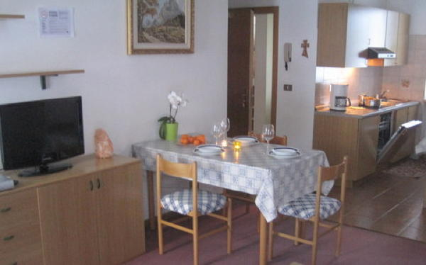 Foto della cucina Chalet Pradat