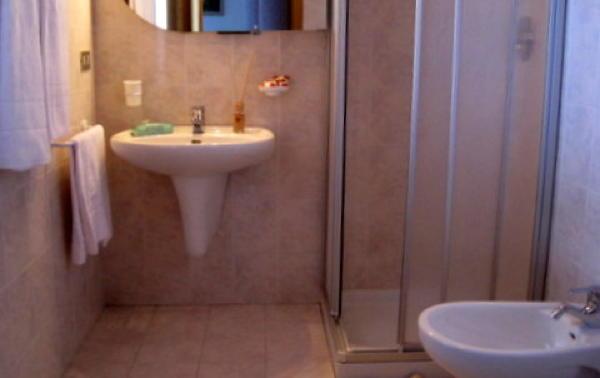 Foto del bagno Appartamenti Chalet Pradat