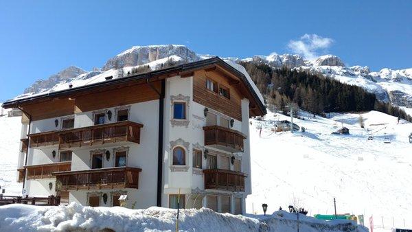 Foto invernale di presentazione Appartamenti Evaldo