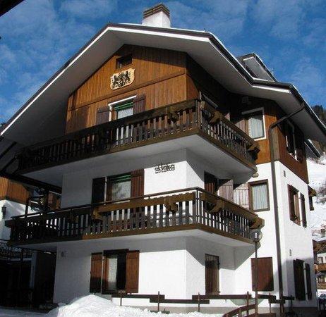 Winter Präsentationsbild Ferienwohnungen El Tabià