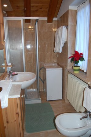Photo of the bathroom Apartments Al Tablé