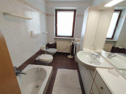 Foto del bagno Appartamenti Vallazza Antonietta