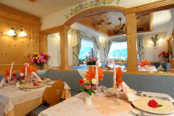 Il ristorante Arabba - Pieve di Livinallongo Cesa Padon