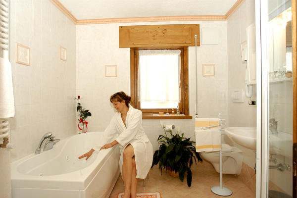 Photo of the bathroom Hotel Cesa Padon