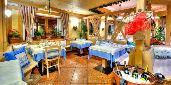 Il ristorante Malga Ciapela (Marmolada) Baita Dovich
