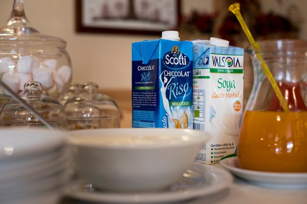 The breakfast Hotel Baita Dovich