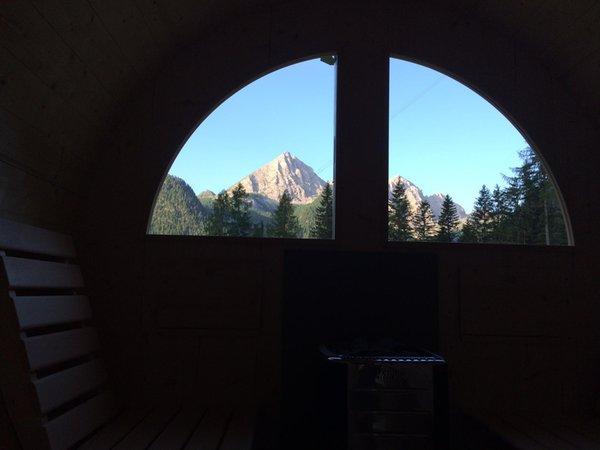 Foto della sauna Malga Ciapela