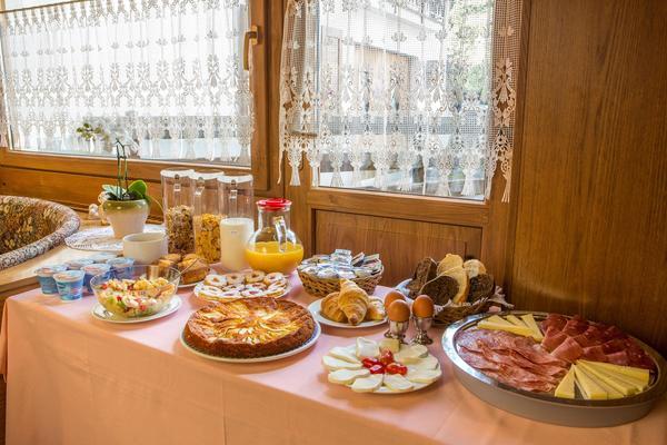 La colazione Ai Serrai - Garni-Hotel 3 stelle