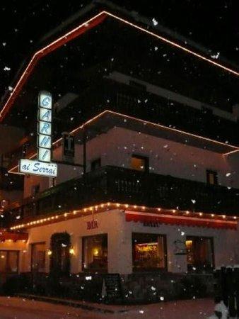 Winter Präsentationsbild Ai Serrai - Garni-Hotel 3 Sterne