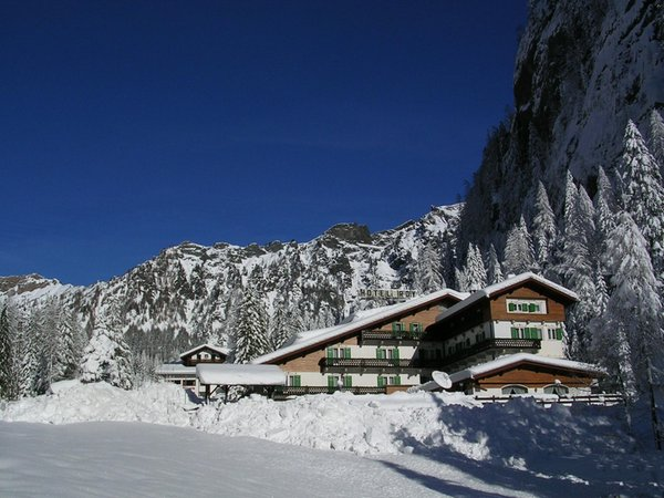 Foto invernale di presentazione Hotel Roy