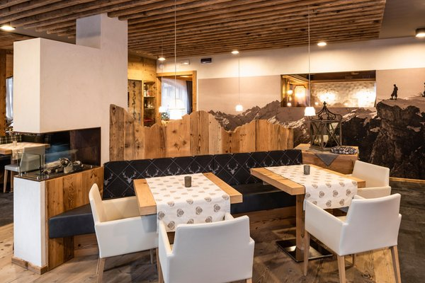 Das Restaurant Malga Ciapela (Marmolada) Roy