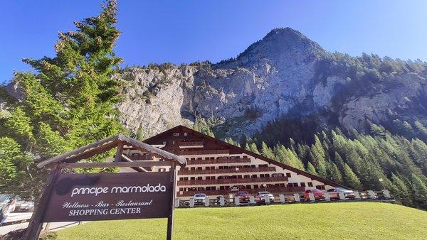 Summer presentation photo Hotel Principe Marmolada