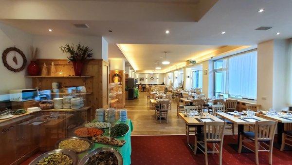 The restaurant Malga Ciapela (Marmolada) Principe Marmolada