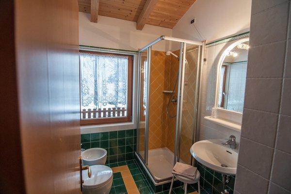 Foto del bagno Hotel La Montanara