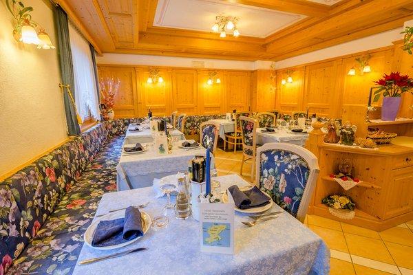 The restaurant Sottoguda (Marmolada) Genzianella