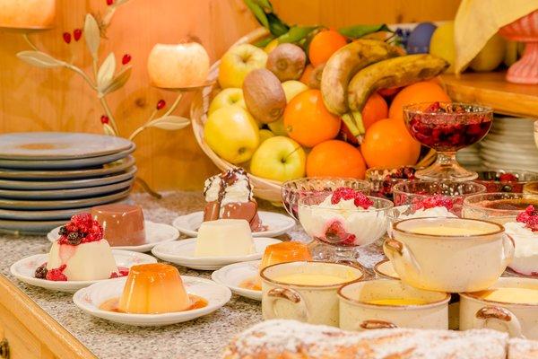 The breakfast Hotel Genzianella