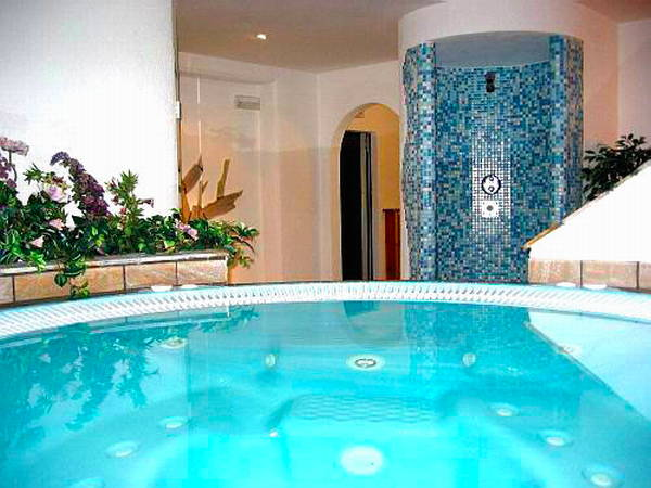 Photo of the wellness area Hotel Rosalpina