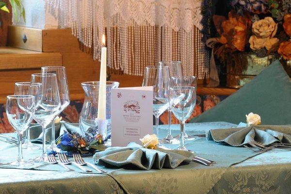 The restaurant Col di Rocca (Marmolada) Eden