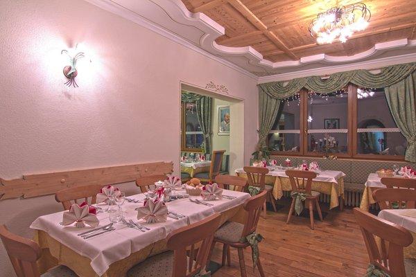 Il ristorante Col di Rocca (Marmolada) Pineta Pastry Hotel