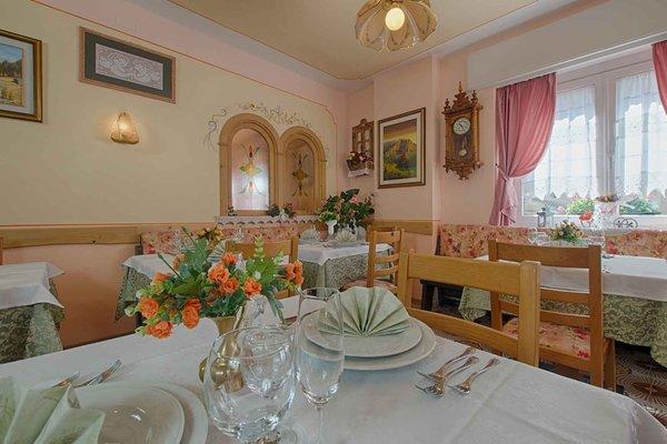 Das Restaurant Saviner di Laste Aurora