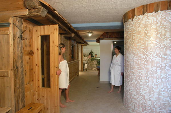 Photo of the wellness area Hotel Albe