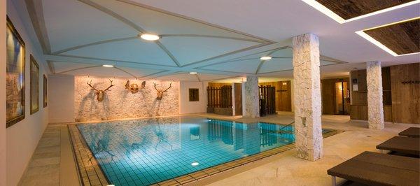 La piscina Hotel Sassongher