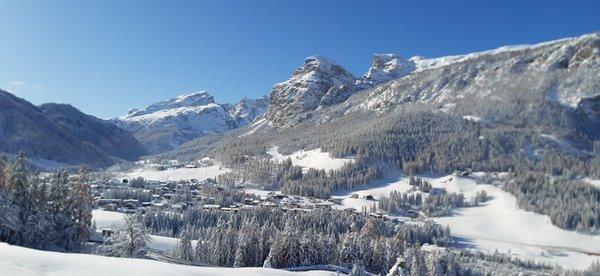 Panoramic view Badia - San Leonardo