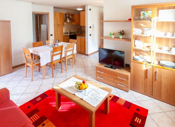 The living area Apartments Casa al Moro