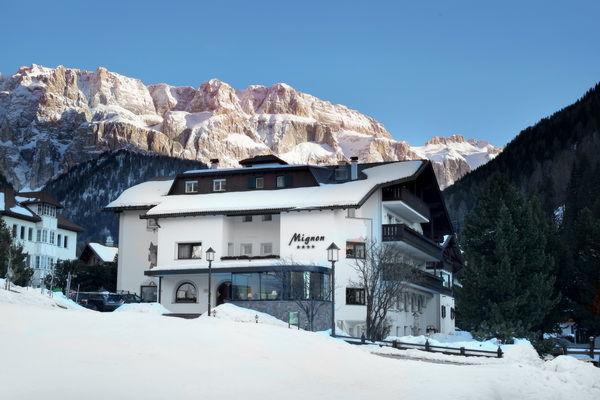 Foto invernale di presentazione Mignon - Hotel 4 stelle