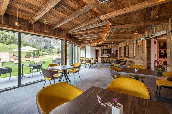 Das Restaurant Wolkenstein Miravalle