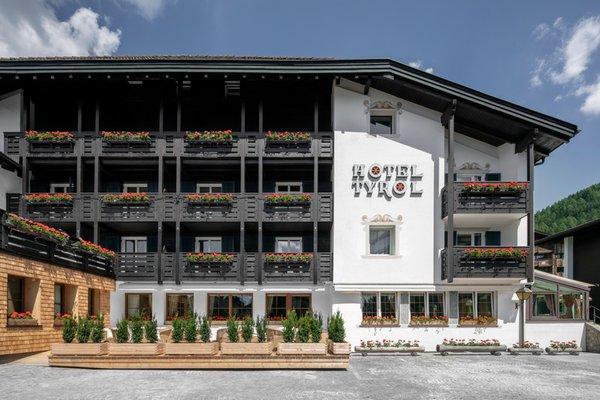 Foto estiva di presentazione Hotel Tyrol