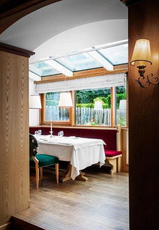 The restaurant Selva Gardena / Wolkenstein Tyrol
